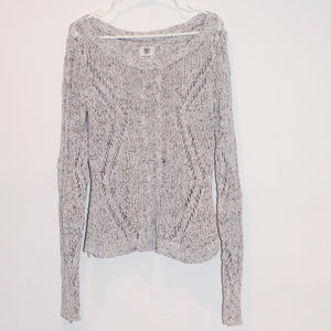 American Eagle Loose Knitted Long Sleeve Sweater